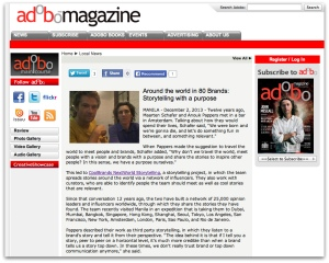 CBNWS in Adobo Magazine