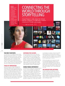 Anouk Pappers in Executive Women - Connecting the world through storytelling
